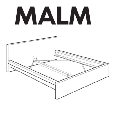 Parts Of A Bed Frame Ikea Malm Bedframe Replacement Parts 29 00 748252557100 Salespider