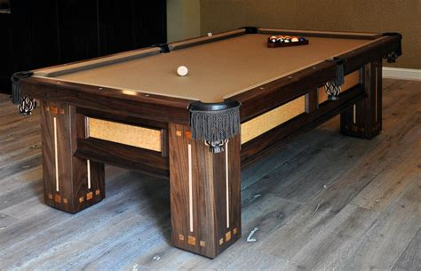 a custom pool table by dan mosheim lumberjocks