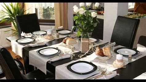 Dining Table Decoration Youtube Dining Table Decorations