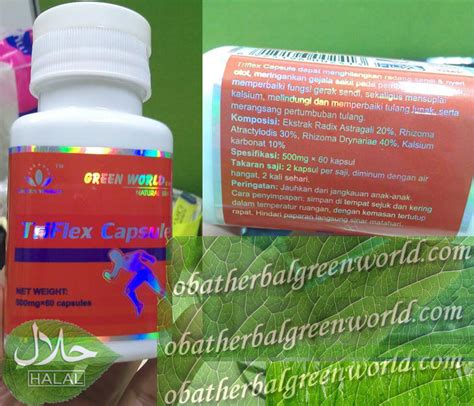 Triflex Capsule Arthropower Green World Original Obat Sakit Sendi pengobatan radang sendi herbal green world global