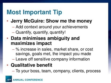 Resume Quantify Accomplishments afp 2014 an impactful resume and what do headhunters