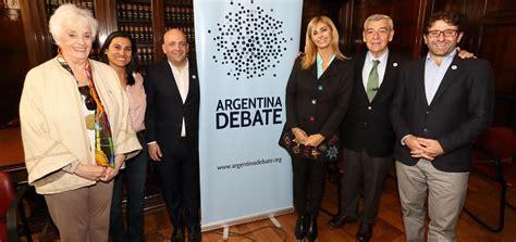 argentina debate argentina debate definen temas y cronograma de