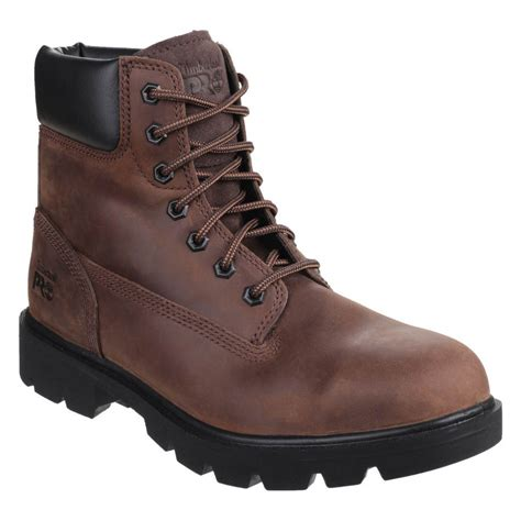 work boots for timberland timberland pro mens classic brown leather sawhorse safety