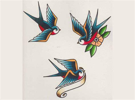 c 243 mo dibujar una golondrina como las usadas para tatuajes