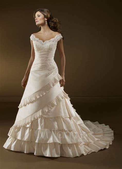 Wedding Dress The Shoulder by The Shoulder Wedding Dresses Design Pictures Sang