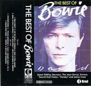 david bowie the best david bowie the best of bowie cassette at discogs