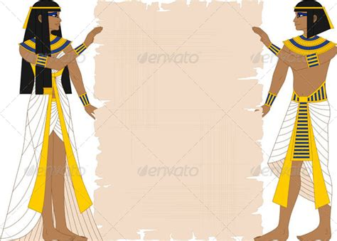 egyptian themes for powerpoint egyptian woman and man holding papyrus by masamima