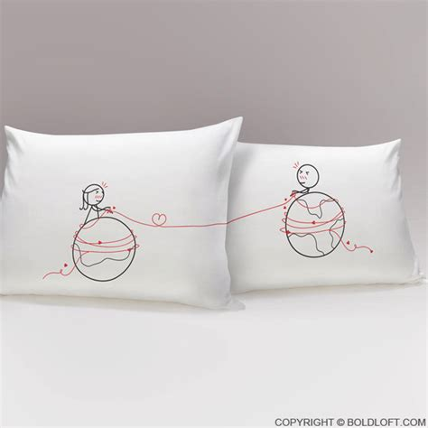 Pillow For Distance Couples distance relationship pillow covers distance