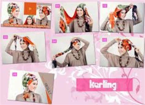 contoh tutorial hijab turban tutorial hijab modern turban terbaru 2016