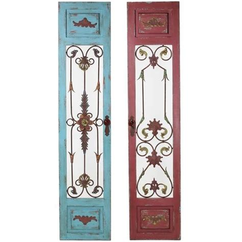 wrought iron and wood wall decor wrought iron wall decor wood panel