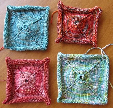 envelope bag knitted in one piece pagewood farm thread string and the rest of it sle knitting