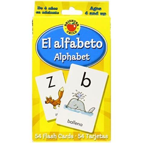 alphabet brighter child flash el alfabeto alphabet brighter child flash cards english wooks