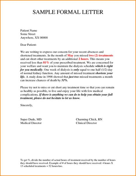Official Letter Writing Pdf 12 Formal Letter Format Sle Of Request Financial Statement Form