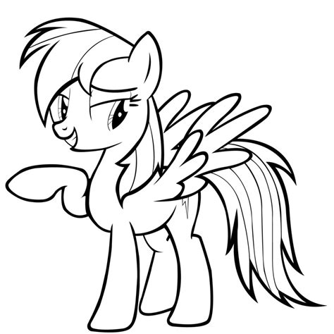 printable coloring pages rainbow dash printable my pony coloring pages coloring me