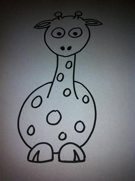 imagenes de jirafas faciles de dibujar c 243 mo dibujar una jirafa de dibujo animado 10 pasos