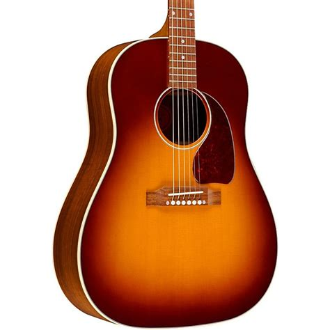Moofeat Slop Gibson 1 gibson limited edition j 45 granadillo slope shoulder acoustic electric guitar music123