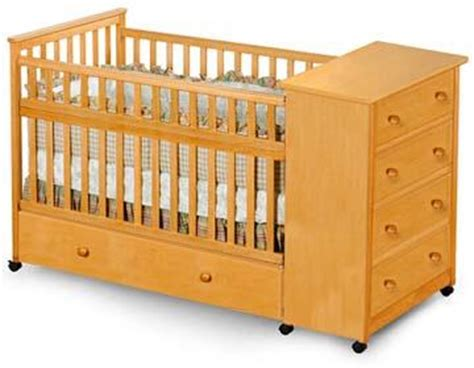 Baby Crib Design Plans by Baby Convertible Captain S Crib Woodworking Plans On Paper