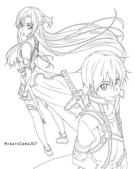 sword art online by minatosama207 on deviantart