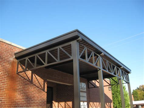 metal awning material aluminum canopy finishes metal awning mitchell metals