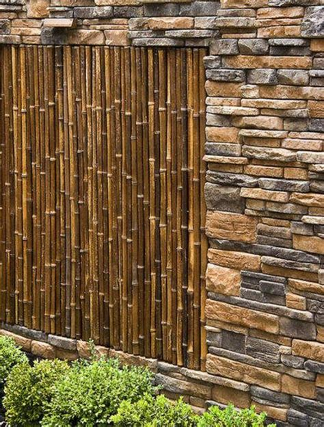 22 Bamboo Home Decoraitng Ideas In Eco Style Garden Wall Covering