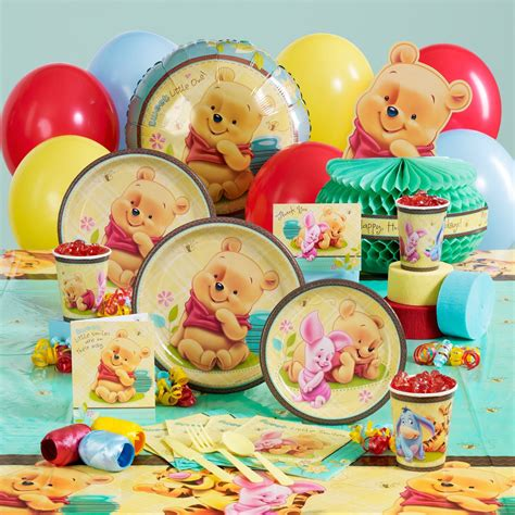 Winnie The Pooh Baby Shower Supplies by Baby Boy Shower Attractive Winnie The Pooh Baby