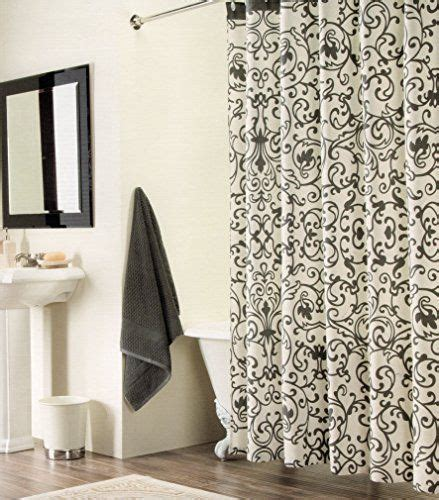 charcoal damask curtains 17 best images about shower on pinterest damasks