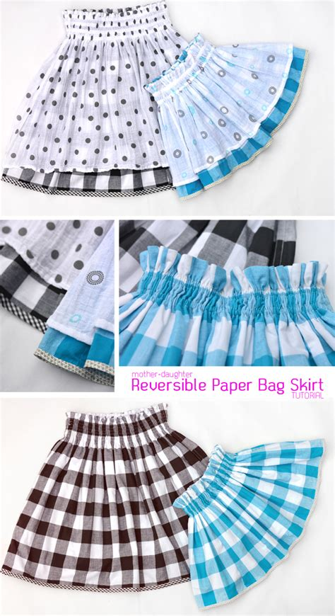How To Make A Paper Skirt - quality sewing tutorials reversible paper