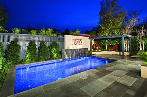 backyard ideas melbourne a truly select pool and landscape design by cos design