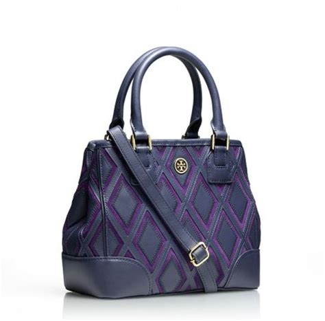 Burch Robinson Patchwork - burch robinson patchwork mini square tote in blue
