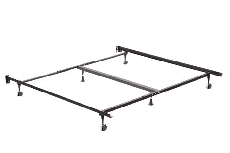 wheels for bed frame solid metal california king bed frame with wheels