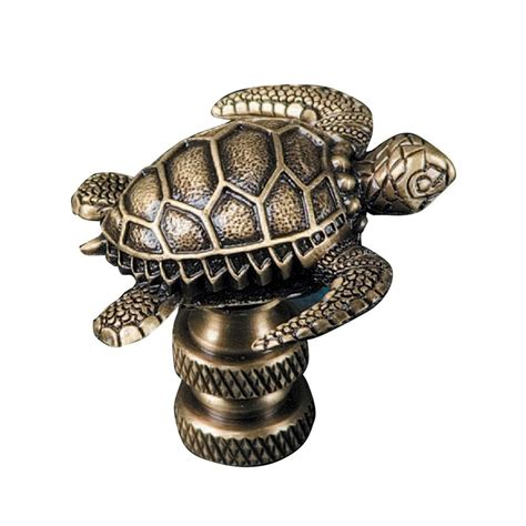 mario industries sea turtle l finial b365a the home depot