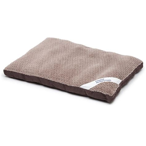 dog pillow bed petco gray memory foam rectangular pillow dog bed 40 quot l x 30 quot w petco store