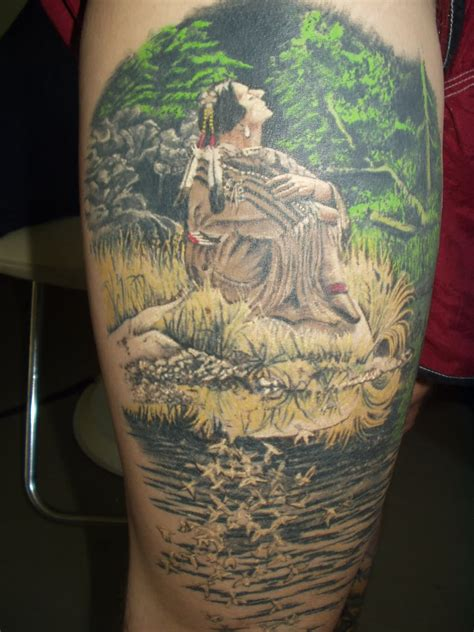 scenic tattoo designs 20 forest scenery tattoos