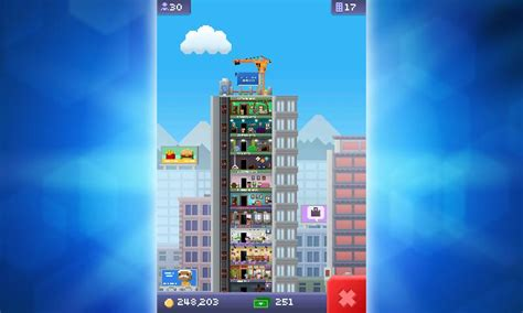 how to move a floor in tiny tower mobile gaming