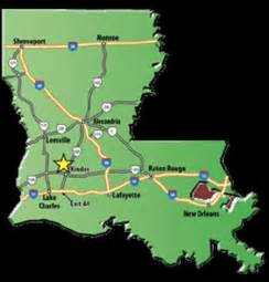 Louisiana Casinos Map louisiana indian casino directory
