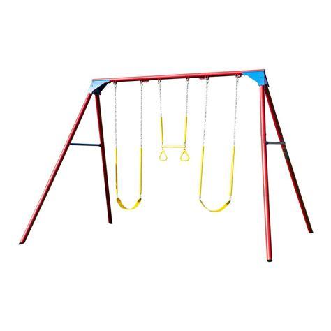 a frame swing set lifetime 10 ft a frame swing set primary colors 90200