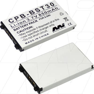 Baterai Battery Sony Ericsson Bst30 Bst 30 Original K700 Hologram K300 Sony Ericsson Bst30 Bst35 Replacement Battery Bst30 A
