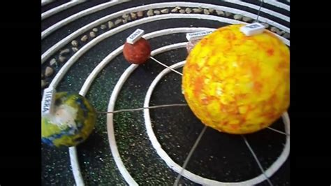 como hacer una maqueta 5 youtube maqueta sistema planetario solar youtube