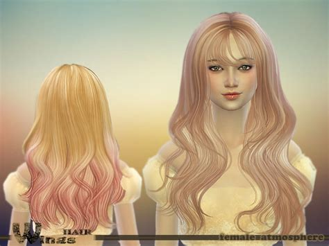 sims 4 cc long curly hair wingssims wings hair m4 atmosphere f