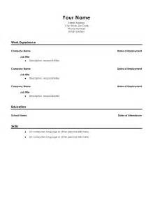 sle resume format for high school graduate with no