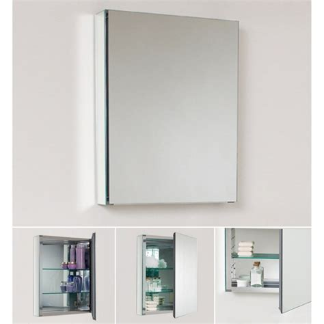 Bathroom Mirror With Cabinet Recessed Medicine Cabinet No Mirror Homesfeed