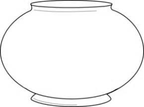 free printable fish bowl template blank fishbowl 2 clip at clker vector clip