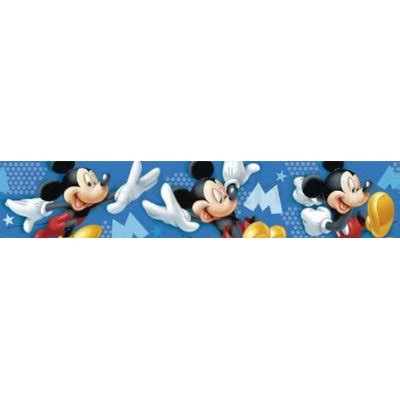cenefas mickey mouse cenefas adhesivas decoracion pared disney quot mickey mouse m