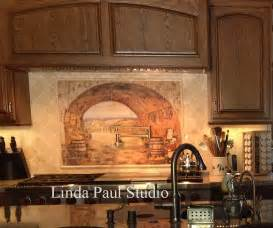 Murals For Kitchen Backsplash by Tuscan Backsplash Tile Wall Murals Tiles Backsplashes