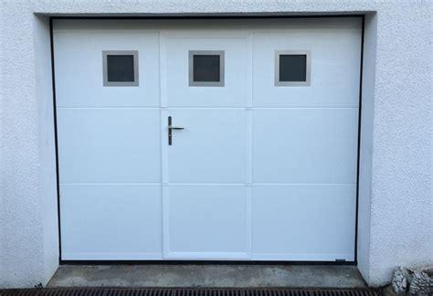 porte garage pvc porte de garage sectionnelle avec portes fenetres pvc