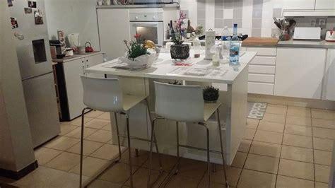 Un ilot de cuisine moderne pas cher   Bidouilles IKEA
