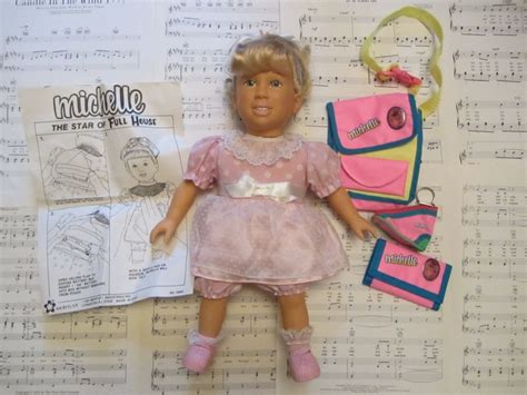 1991 Talking Michelle Doll From Full House Complete With Accessories
