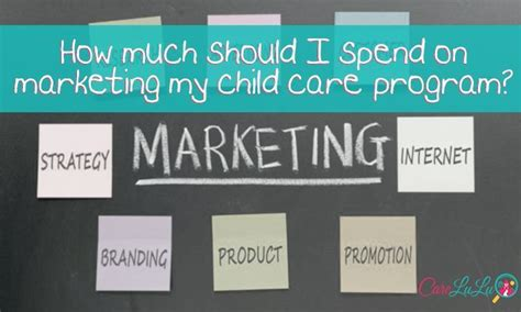 How Much Should I Spend On My by How Much Should I Spend On Marketing For My Child Care