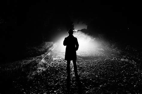 Black White Silhouette Photography | dreamers great black and white silhouette images