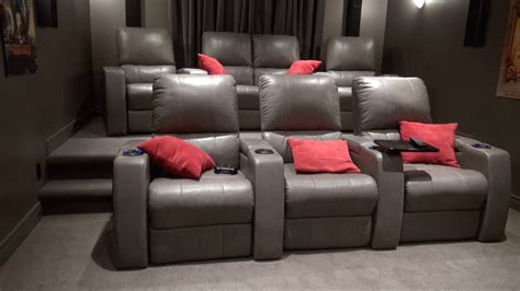 stadium seating couches living room how to build a theater seating riser the burke home